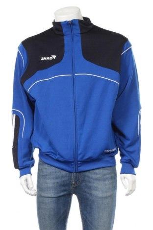 Męska bluza sportowa Jako, Rozmiar L, Kolor Niebieski, 87% poliester, 13% bawełna, Cena 86,40zł