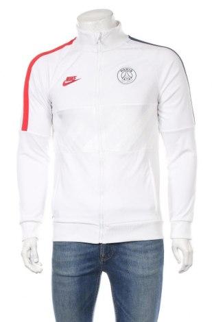 Ανδρική αθλητική ζακέτα Nike, Μέγεθος S, Χρώμα Λευκό, Πολυεστέρας, Τιμή 35,57€