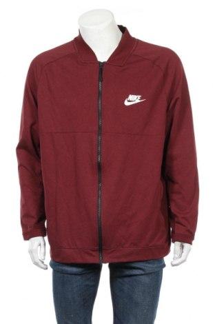 Męska bluza sportowa Nike, Rozmiar XXL, Kolor Czerwony, 56% bawełna, 44% poliester, Cena 91,20zł