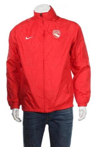 Ανδρική αθλητική ζακέτα Nike, Μέγεθος M, Χρώμα Κόκκινο, Πολυαμίδη, Τιμή 29,88€