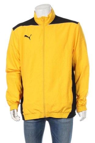 Ανδρική αθλητική ζακέτα PUMA, Μέγεθος XL, Χρώμα Κίτρινο, Πολυεστέρας, Τιμή 25,33€