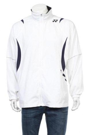 Męska bluza sportowa Yonex, Rozmiar XL, Kolor Biały, Poliester, Cena 50,40zł