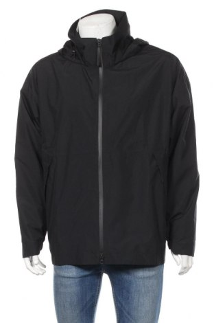 Ανδρικό αθλητικό μπουφάν Adidas, Μέγεθος L, Χρώμα Μαύρο, Πολυεστέρας, Τιμή 64,59€