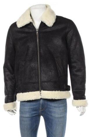 Pánska bunda  ASOS, Veľkosť M, Farba Čierna, Polyester, Cena  66,49€