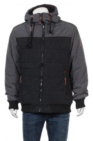 Ανδρικό μπουφάν Indicode, Μέγεθος XL, Χρώμα Μπλέ, 85% πολυεστέρας, 15% βαμβάκι, Τιμή 44,33€