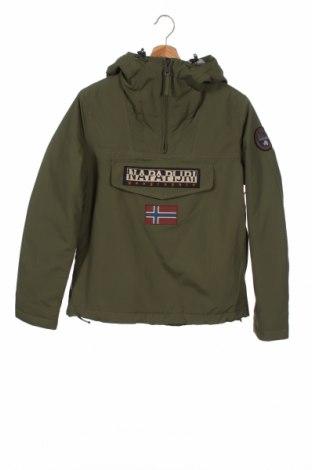 Męska kurtka Napapijri, Rozmiar S, Kolor Zielony, Poliester, Cena 355,88zł