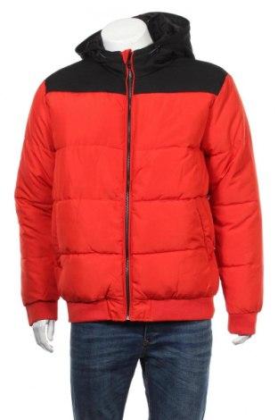 Pánska bunda  Only & Sons, Veľkosť XL, Farba Červená, Polyester, Cena  45,36€