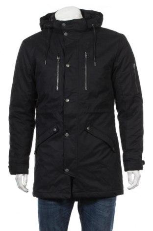 Pánska bunda  Only & Sons, Veľkosť M, Farba Čierna, 48% polyester, 42% bavlna, 10% polyamide, Cena  76,80€