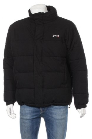 Pánska bunda  Schott, Veľkosť L, Farba Čierna, 65% bavlna, 35% polyamide, Cena  123,20€
