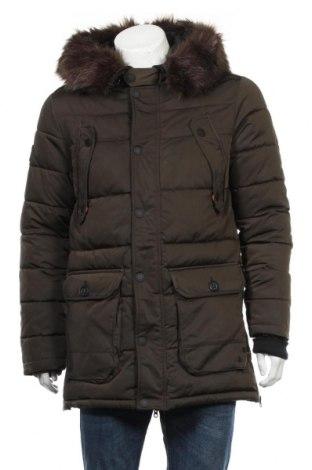 Pánska bunda  Superdry, Veľkosť M, Farba Zelená, Polyester, Cena  128,35€