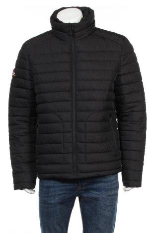 Pánska bunda  Superdry, Veľkosť XL, Farba Čierna, Polyester, Cena  118,04€