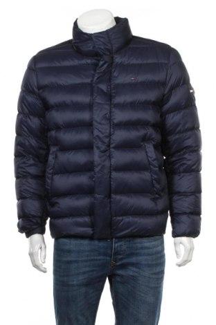 Pánska bunda  Tommy Hilfiger, Veľkosť M, Farba Modrá, Polyamide, perie , Cena  185,05€