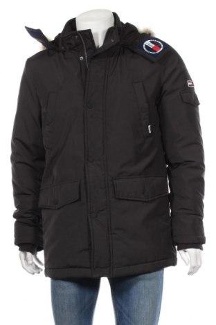 Pánska bunda  Tommy Hilfiger, Veľkosť M, Farba Čierna, 100% polyester, Cena  200,52€