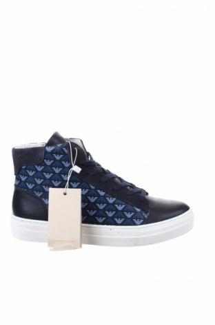 Παπούτσια Armani Junior, Μέγεθος 40, Χρώμα Μπλέ, Γνήσιο δέρμα, Τιμή 130,34€