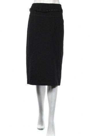 Пола Atelier GARDEUR, Размер L, Цвят Черен, 71% вискоза, 23% полиамид, 6% еластан, Цена 35,28лв.