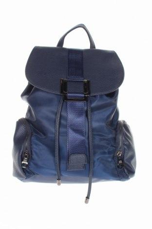 Plecak Bpc Bonprix Collection, Kolor Niebieski, Materiał tekstylny, eko skóra, Cena 101,25zł