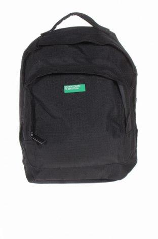 Plecak United Colors Of Benetton, Kolor Czarny, Materiał tekstylny, Cena 148,20zł
