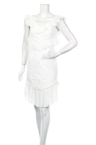 Рокля Allyson, Размер S, Цвят Бял, 100% полиестер, Цена 48,00лв.