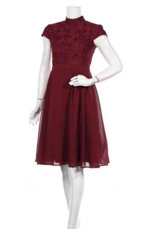 Φόρεμα Chi Chi, Μέγεθος S, Χρώμα Κόκκινο, Πολυεστέρας, Τιμή 43,56€