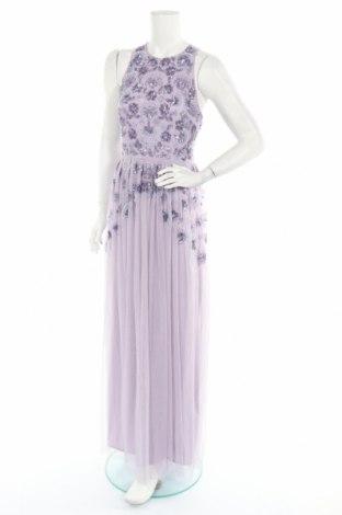 Sukienka Maya Deluxe, Rozmiar S, Kolor Fioletowy, Poliester, Cena 64,09zł