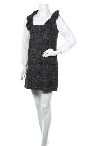 Sukienka Zara, Rozmiar M, Kolor Czarny, 37%akryl, 36% poliester, 26% wiskoza, 1% elastyna, Cena 31,00zł