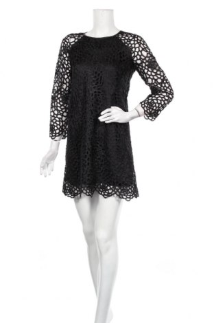 Рокля Zara, Размер S, Цвят Черен, Полиестер, Цена 31,92лв.