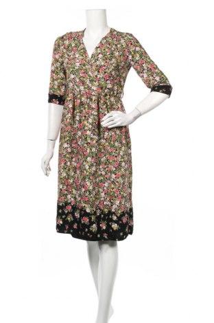 Рокля Zara, Размер XS, Цвят Многоцветен, Полиестер, Цена 36,91лв.