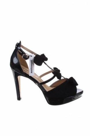 Sandale Maria Mare, Mărime 40, Culoare Negru, Piele ecologică, Preț 163,03 Lei
