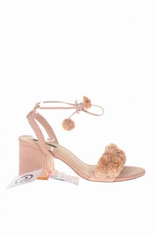 Σανδάλια Pull&Bear, Μέγεθος 41, Χρώμα Ρόζ , Κλωστοϋφαντουργικά προϊόντα, Τιμή 18,04€