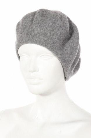 Καπέλο Bpc Bonprix Collection, Χρώμα Γκρί, Μαλλί, Τιμή 19,59€
