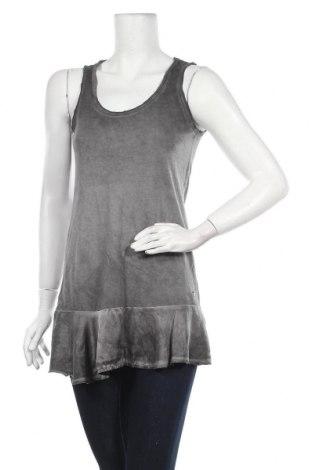 Туника Grace, Размер XS, Цвят Сив, 50% памук, 50% модал, Цена 14,30лв.