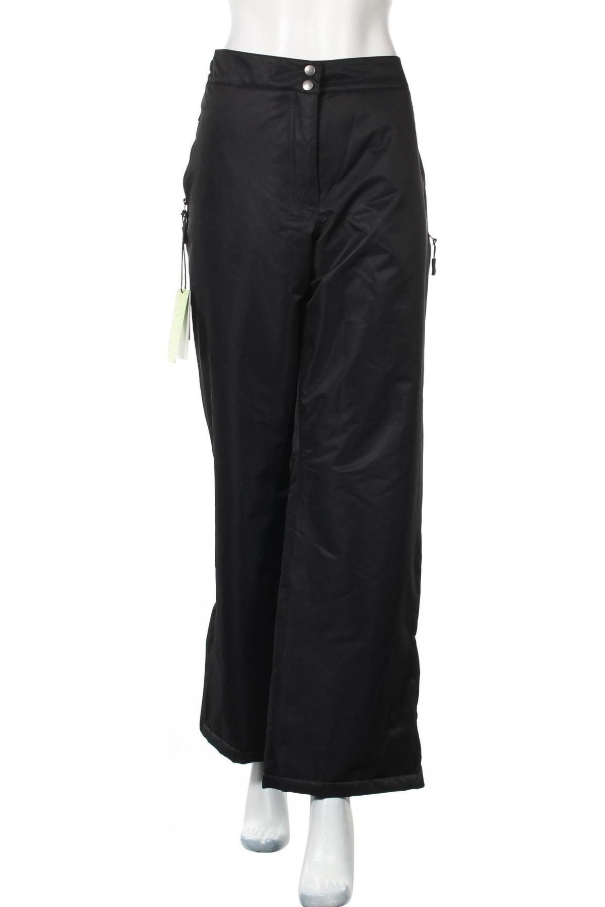 Дамски спортен панталон Bpc Bonprix Collection, Размер XXL, Цвят Черен, Полиестер, Цена 27,60лв.