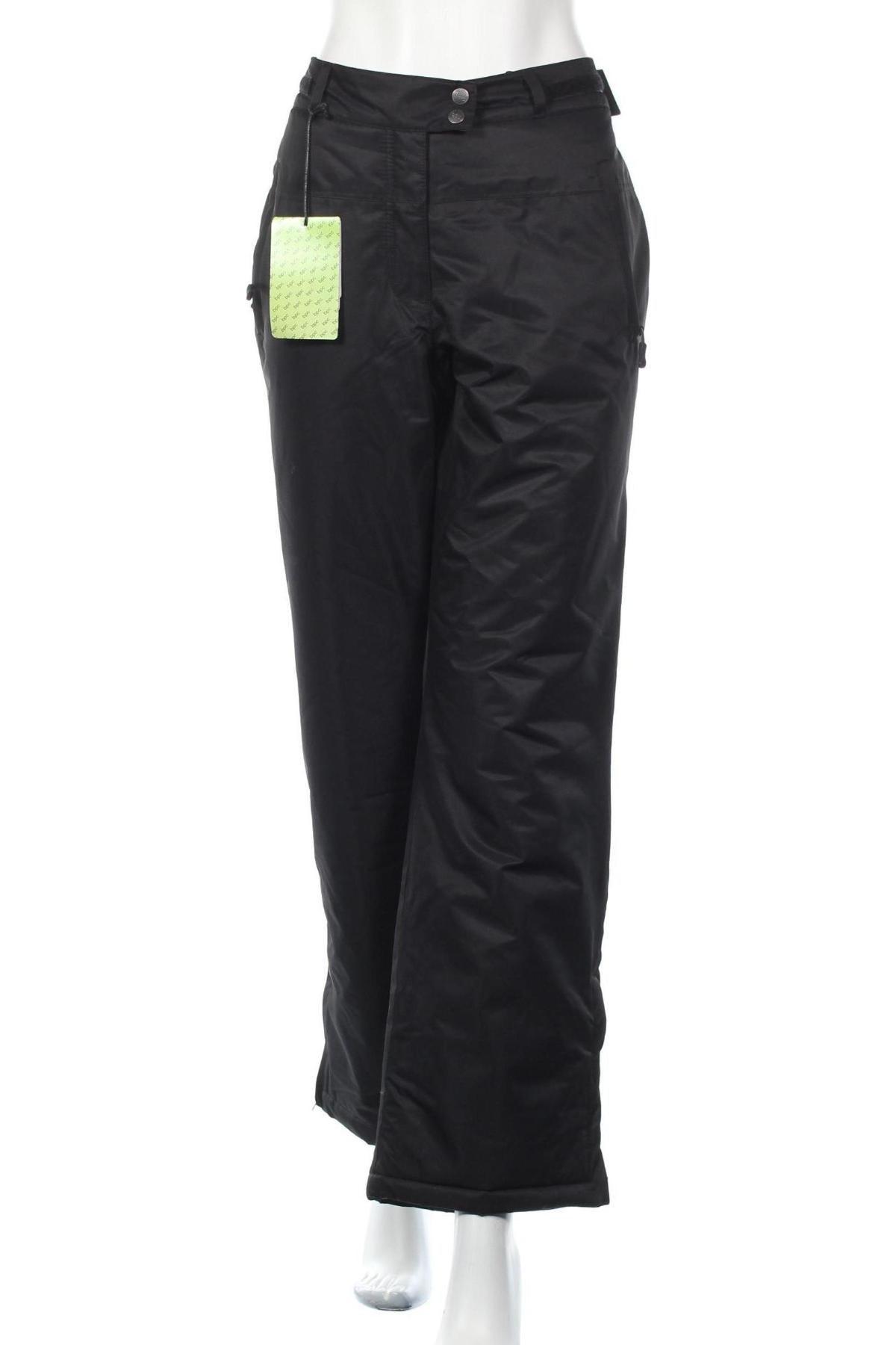 Дамски спортен панталон Bpc Bonprix Collection, Размер L, Цвят Черен, Полиестер, Цена 26,22лв.