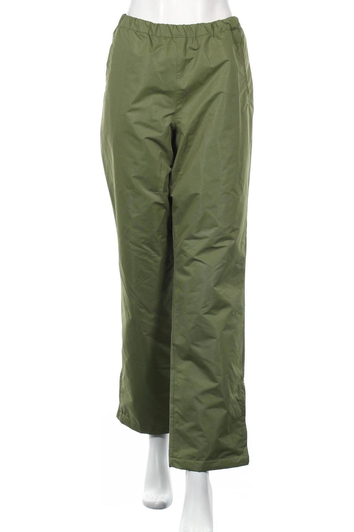 Дамски спортен панталон Bpc Bonprix Collection, Размер L, Цвят Зелен, 100% полиестер, Цена 5,90лв.