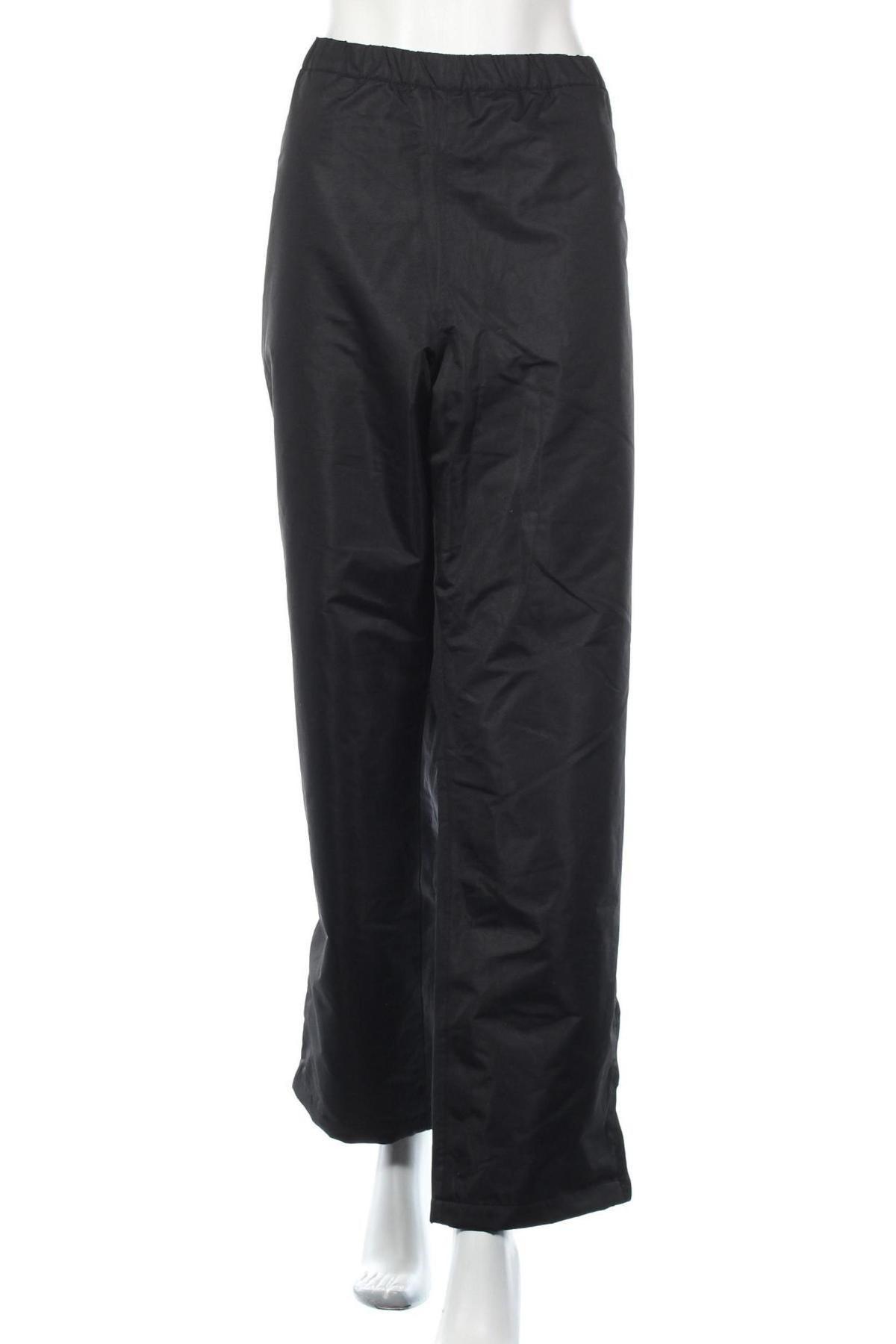 Дамски спортен панталон Bpc Bonprix Collection, Размер XXL, Цвят Черен, 100% полиестер, Цена 11,80лв.
