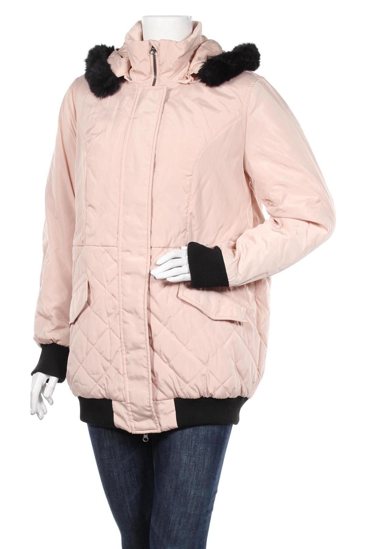 Дамско яке Body Flirt, Размер XL, Цвят Розов, Полиестер, Цена 40,32лв.