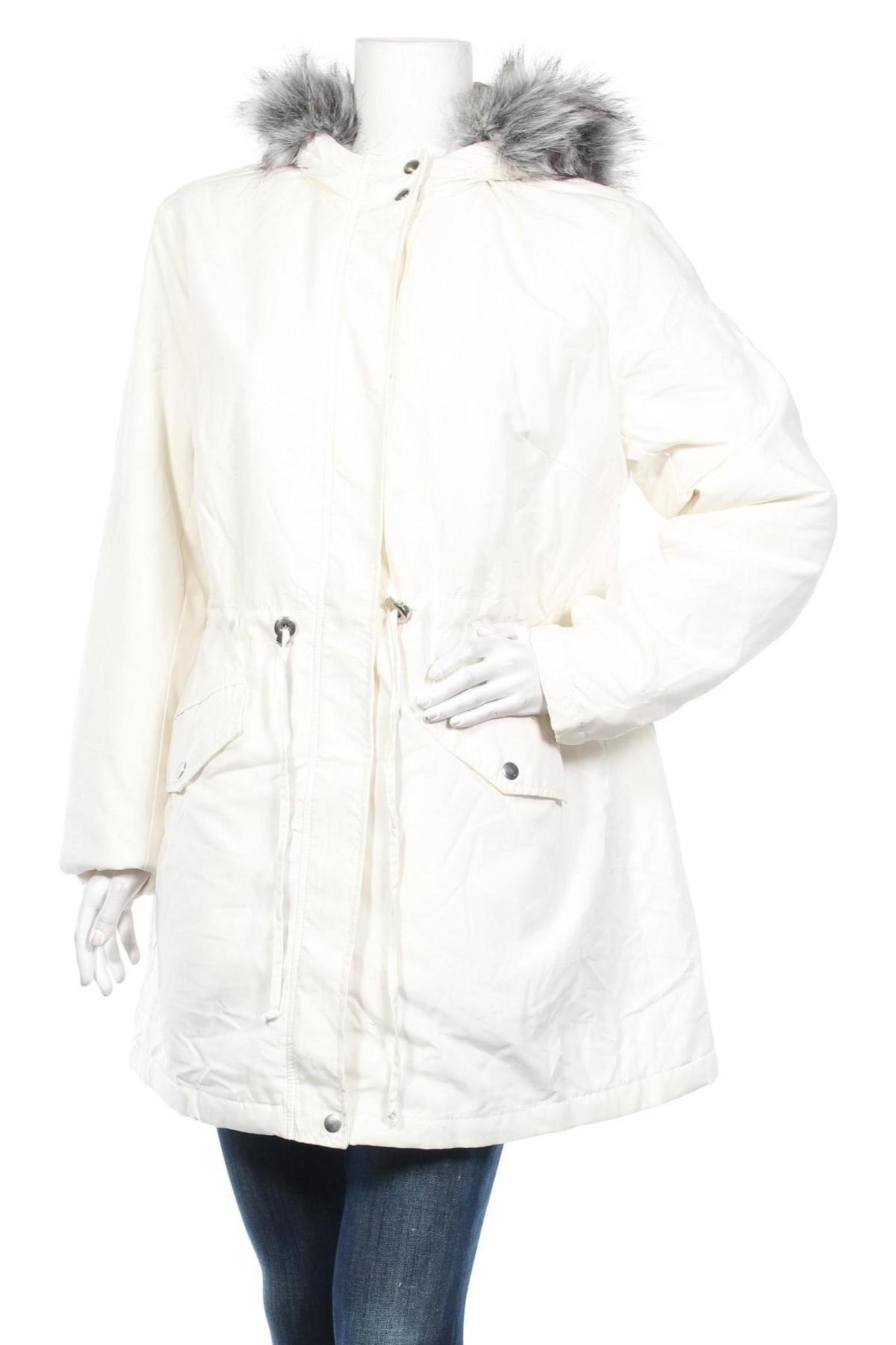 Дамско яке Bpc Bonprix Collection, Размер XXL, Цвят Бял, Полиестер, Цена 41,44лв.