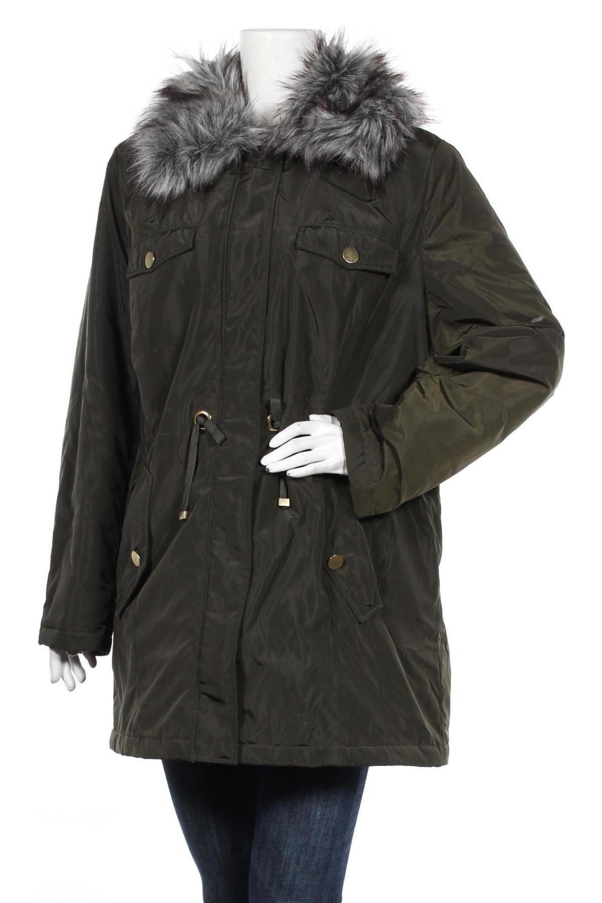 Дамско яке Bpc Bonprix Collection, Размер XL, Цвят Зелен, Полиестер, Цена 91,50лв.