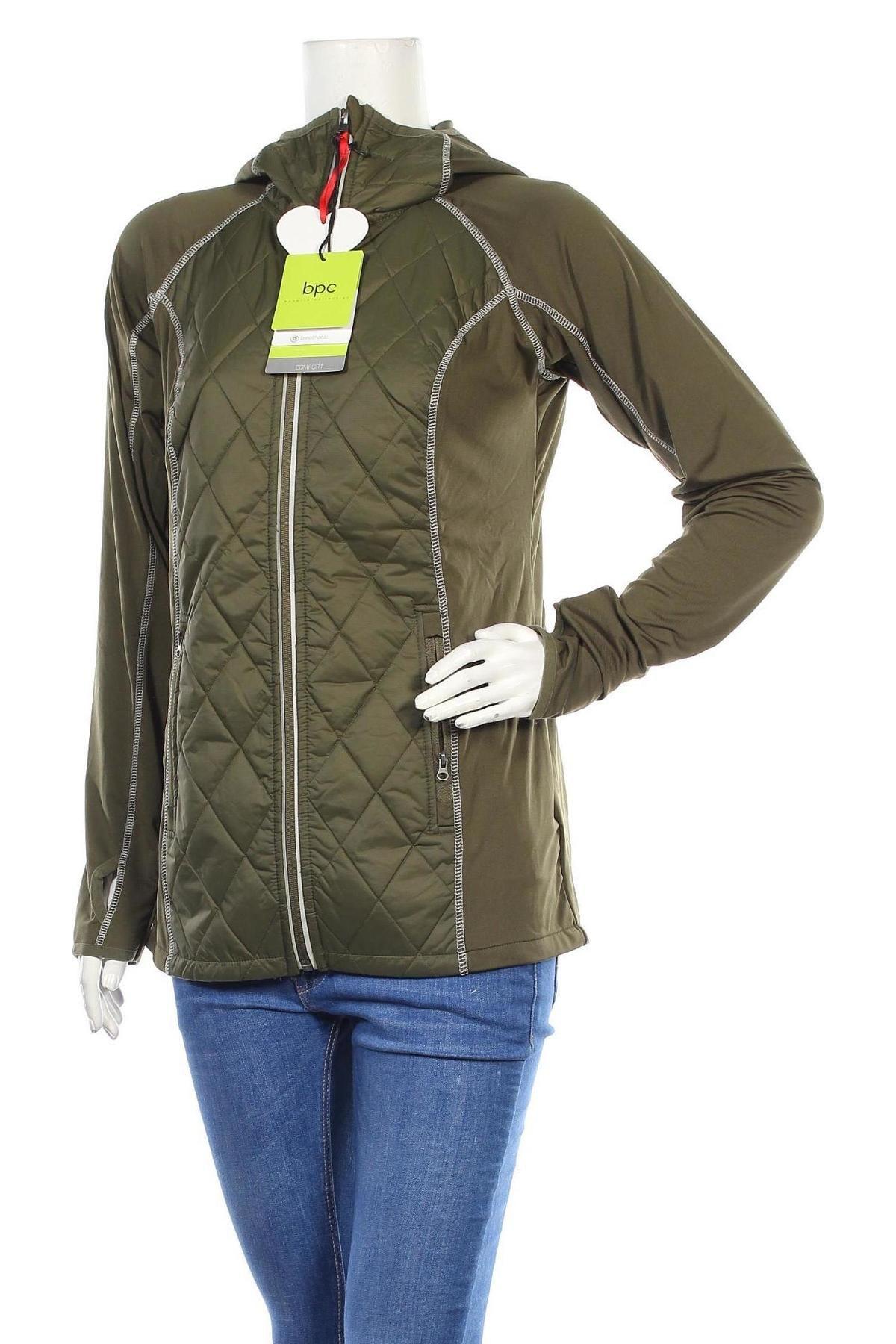 Дамско спортно яке Maite Kelly by Bonprix, Размер S, Цвят Зелен, 90% полиестер, 10% еластан, Цена 91,50лв.