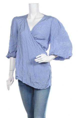 Блуза за бременни Mamalicious, Размер L, Цвят Син, Вискоза, Цена 39,00лв.