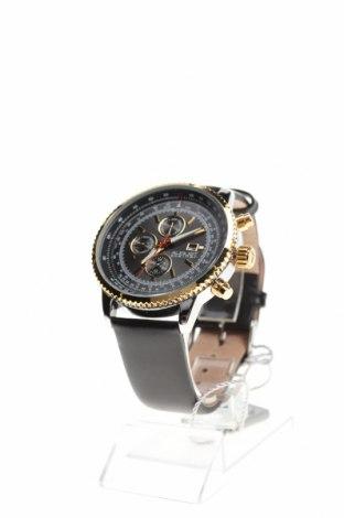 Ρολόι August Steiner, Χρώμα Μαύρο, Γνήσιο δέρμα, μέταλλο, Τιμή 254,77€