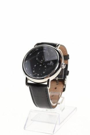 Ρολόι Jean-Louis Scherrer, Χρώμα Μαύρο, Γνήσιο δέρμα, μέταλλο, Τιμή 181,31€
