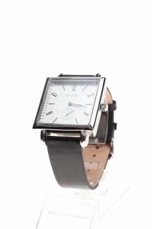 Ρολόι Simplify, Χρώμα Μαύρο, Γνήσιο δέρμα, μέταλλο, Τιμή 123,32€