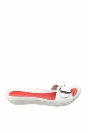 Γυναικείες παντόφλες Ara, Μέγεθος 38, Χρώμα Λευκό, Γνήσιο δέρμα, Τιμή 34,41€