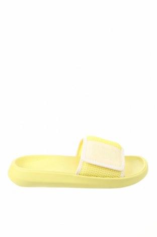 Γυναικείες παντόφλες UGG Australia, Μέγεθος 40, Χρώμα Κίτρινο, Κλωστοϋφαντουργικά προϊόντα, δερματίνη, Τιμή 49,87€