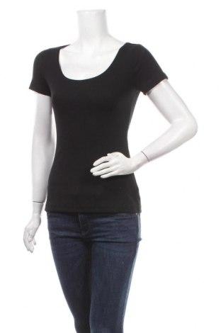 Дамска блуза Anna Field, Размер S, Цвят Черен, 95% памук, 5% еластан, Цена 25,50лв.