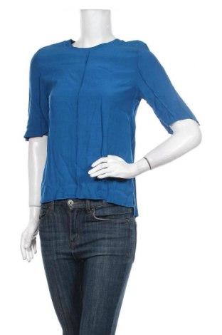 Дамска блуза Autograph, Размер S, Цвят Син, Вискоза, Цена 24,36лв.