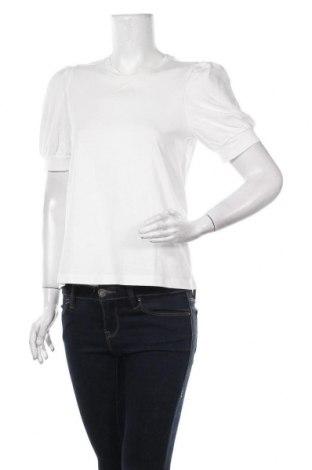 Дамска блуза Aware by Vero Moda, Размер S, Цвят Бял, Памук, Цена 31,50лв.