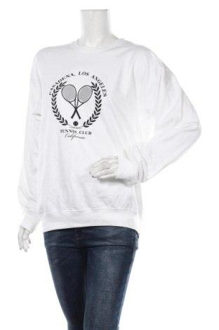 Γυναικεία μπλούζα Boohoo, Μέγεθος L, Χρώμα Λευκό, 360% βαμβάκι, 40% πολυεστέρας, Τιμή 11,06€