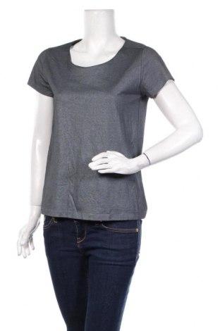 Дамска блуза COS, Размер S, Цвят Сив, Памук, Цена 24,20лв.